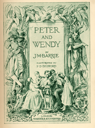 Peter And Wendy Cover